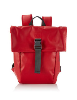 Bree Rucksack Punch 92 in rot red - Frontansicht