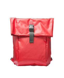 Bree Rucksack Punch 93 in rot red - Frontansicht