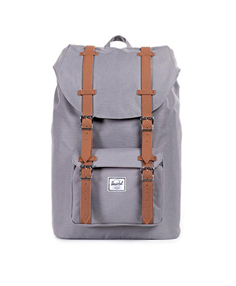 Herschel-Little-America-Mid-Volume-Backpack-Rucksack-145-Liter-GrauTan-0
