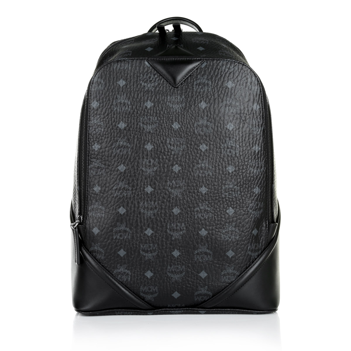 mcm duke visetos small rucksack black schwarz. Black Bedroom Furniture Sets. Home Design Ideas